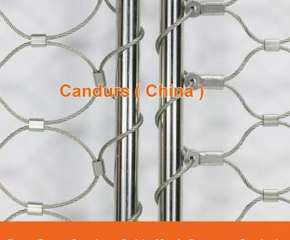 Stainless Steel Wire Rope Mesh New Ferruled Stainless Steel Cable Wire Rope Lion Enclosure Mesh In, 1 Photos