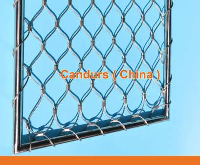 Stainless Steel Wire Rope Mesh Professional Flexible, Stainless Steel Wire Rope Mesh, DecorRope, Candurs Solutions