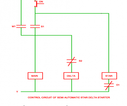 star delta starter wiring diagram explanation pdf Control Circuit of Semi Automatic Star Delta Starter, Electrical Star Delta Starter Wiring Diagram Explanation Pdf Nice Control Circuit Of Semi Automatic Star Delta Starter, Electrical Ideas