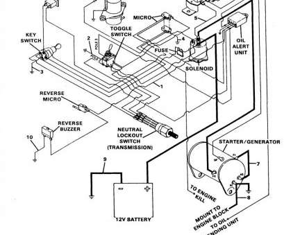 15 Most Starter Generator Wiring Diagram Golf Cart Ideas