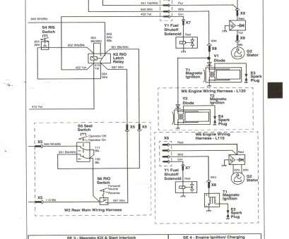 starter wiring diagram for lawn mower lawn mower starter wiring diagram  amazing simplicity solenoid images starter