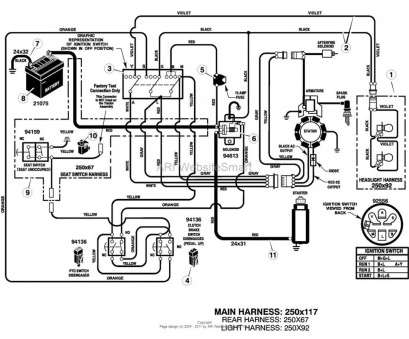 Starter Wiring Diagram, Lawn Mower Simple Starter Solenoid Wiring Diagram, Lawn Mower On Tractor B2Network Co Extraordinary Murray Pictures