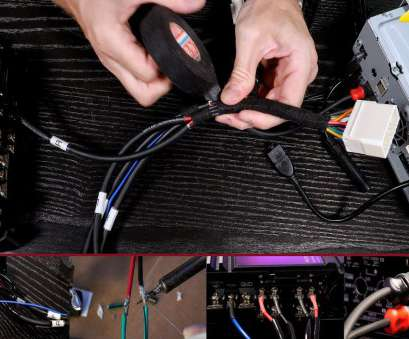 stock speaker wire gauge Wiring, or 4 channel, to your stock speaker harness without cutting, factory wiring Stock Speaker Wire Gauge Nice Wiring, Or 4 Channel, To Your Stock Speaker Harness Without Cutting, Factory Wiring Pictures