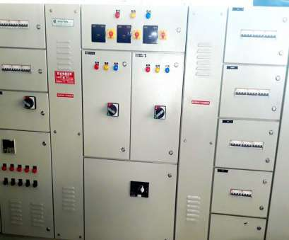 Switchgear Wiring Professional Distribution Panel Wiring Explained, Switchgear Main LT Panel With Changeover, Switching EB & DG Pictures