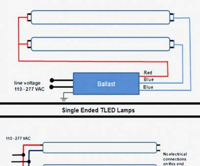 Ballast Six Diagram Magnetic Wiring Bulb T on