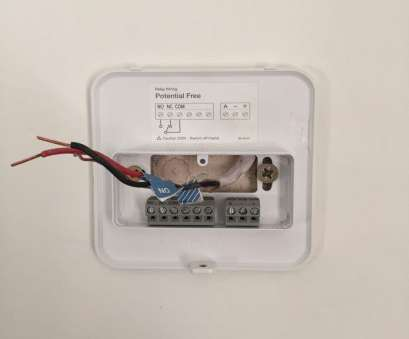 tado smart thermostat wiring diagram Wiring, Tado base plate, simple enough, again, guide tells, exactly which wire needs to go where. As i only, the NO, COM cables i 14 Professional Tado Smart Thermostat Wiring Diagram Collections