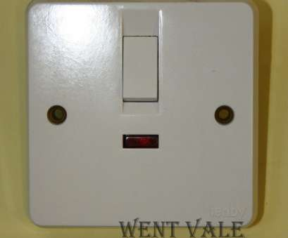 tenby double light switch wiring Tenby Glacier, 7049 -, Double Pole Switch With Neon & Flex Outlet Un-used, eBay 11 Brilliant Tenby Double Light Switch Wiring Images