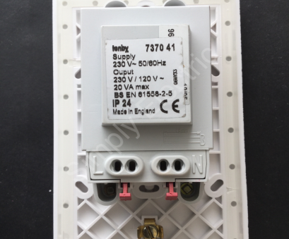 tenby double light switch wiring ... Tenby Shaver socket 120/230V white, 737041, from £6.19/unit Tenby Double Light Switch Wiring Fantastic ... Tenby Shaver Socket 120/230V White, 737041, From £6.19/Unit Solutions