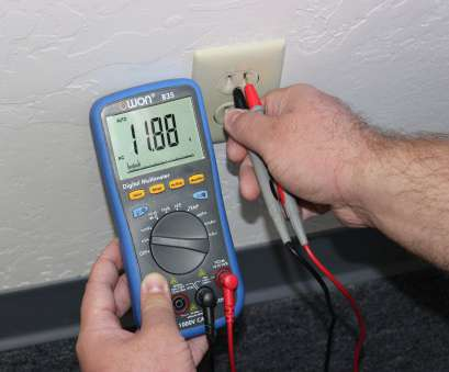 testing electrical outlet wiring Testing an Electrical Outlet Using a Digital Multimeter, Simply 12 Fantastic Testing Electrical Outlet Wiring Pictures