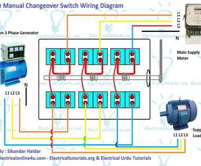 three phase electrical wiring diagram 3 Phase Electrical Wiring Diagram 3 Phase Manual Changeover Switch Wiring Diagram, Generator Three Phase Electrical Wiring Diagram New 3 Phase Electrical Wiring Diagram 3 Phase Manual Changeover Switch Wiring Diagram, Generator Images