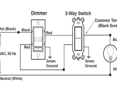 three way switch with dimmer wiring diagram 3, Switch Dimmer Wiring Diagram, Leviton Dimmers, At Three, Switch With Dimmer Wiring Diagram Professional 3, Switch Dimmer Wiring Diagram, Leviton Dimmers, At Ideas