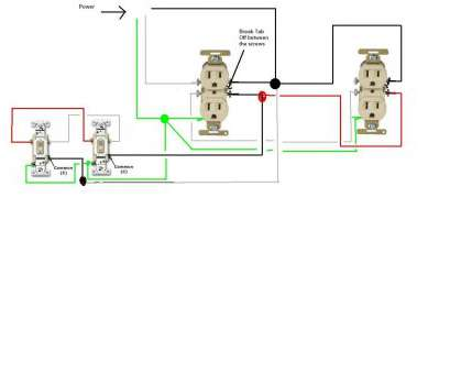 three way switch with outlet wiring ..., Do I Go About Wiring, Split Circuit Outlets Controlled By Mesmerizing 3, Switch Three, Switch With Outlet Wiring Top ..., Do I Go About Wiring, Split Circuit Outlets Controlled By Mesmerizing 3, Switch Collections