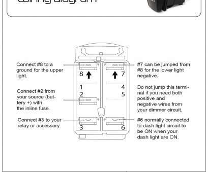 Toggle Switch Wiring 6 Pin Simple Lighted Toggle Switch Wiring Diagram Gallery Throughout Fonar Me 6, Toggle Switch Wiring Diagram Cole Collections