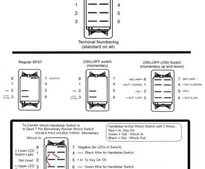 Toggle Switch Wiring 6 Pin Practical Wiring Diagram 6, Toggle Switch Circuit 5 Rocker On Best Of Outstanding Galleries
