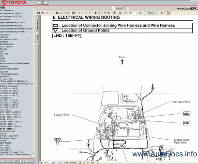 Toyota Coaster Electrical Wiring Diagram Professional ...