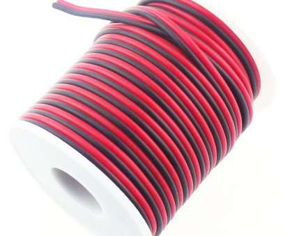 track lighting wire gauge Get Quotations · RGBSIGHT 40FT 18 Gauge Single Color, Strip Extension Cable 18AWG 2pin 2 Color, Black Track Lighting Wire Gauge Best Get Quotations · RGBSIGHT 40FT 18 Gauge Single Color, Strip Extension Cable 18AWG 2Pin 2 Color, Black Pictures