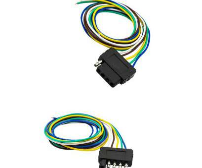 trailer light wiring harness Get Quotations · Dovewill 2 Pieces, Trailer Light Wiring Harness 5-Pin Plug Flat Wire Connectors Trailer Light Wiring Harness Fantastic Get Quotations · Dovewill 2 Pieces, Trailer Light Wiring Harness 5-Pin Plug Flat Wire Connectors Images