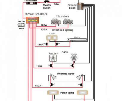 travel trailer electrical wiring diagram brilliant electrical diagram  29, 2012 in teardrop trailer wiring ideas