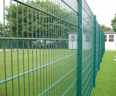 twin wire mesh fence Protek, clamp, Lemon Fencing, Fencing in Essex, Garden 17 Simple Twin Wire Mesh Fence Solutions