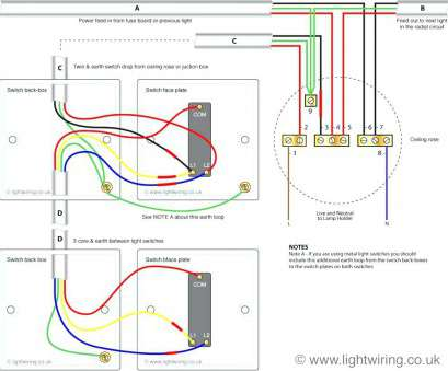 19 Popular Two, Light Switch Wiring Diagram Uk Solutions