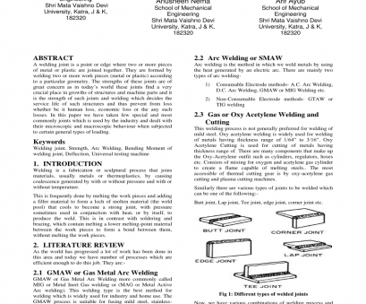 types of electrical wire joints pdf (PDF) Analysis of Welding Joints, Processes Types Of Electrical Wire Joints Pdf Professional (PDF) Analysis Of Welding Joints, Processes Pictures
