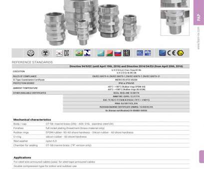 types of electrical wire pdf PAP Cable glands, armoured cables, F.E.A.M. s.r.l., PDF Types Of Electrical Wire Pdf Simple PAP Cable Glands, Armoured Cables, F.E.A.M. S.R.L., PDF Collections