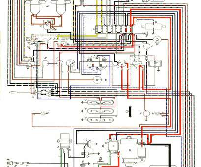 types of electrical wire pdf most thesamba type 2 wiring diagrams of electrical  wiring diagram,