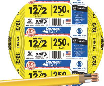 Underground Electrical Wire Size Calculator Most Romex 12-2 NMW/G Wire, 28828255, Do It Best Ideas