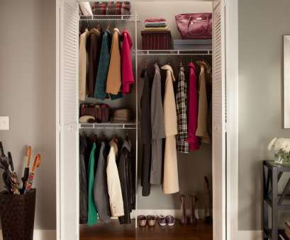 vinyl coated wire closet shelving ClosetMaid Up to 5, Closet Organizer Vinyl Coated Wire Closet Shelving Creative ClosetMaid Up To 5, Closet Organizer Pictures