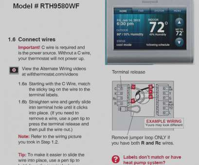 How To Replace Thermostat Wire | Vs5 Thermostat Wiring Diagram Popular How To Replace A Fridge