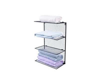 wall mounted wire storage shelving unit 4-Tier Wall Mounted Metal Chicken Wire Mesh Bathroom Towel Storage Shelving Unit Wall Mounted Wire Storage Shelving Unit Best 4-Tier Wall Mounted Metal Chicken Wire Mesh Bathroom Towel Storage Shelving Unit Pictures