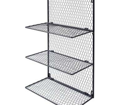 wall mounted wire storage shelving unit 4-Tier Wall Mounted Metal Chicken Wire Mesh Bathroom Towel Storage Shelving Unit MyGift SPOMHNK4856 Wall Mounted Wire Storage Shelving Unit Best 4-Tier Wall Mounted Metal Chicken Wire Mesh Bathroom Towel Storage Shelving Unit MyGift SPOMHNK4856 Ideas