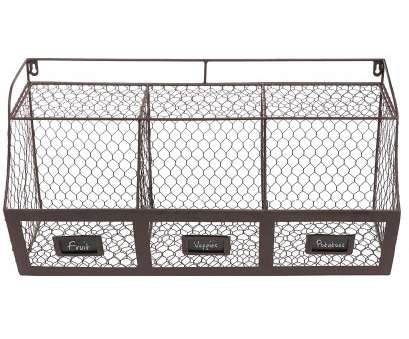 19 Most Wall Wire Basket Shelves Pictures