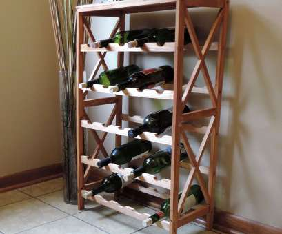 walmart kitchen wire shelving Rustic Wine Rack-Space Saving Free Standing Wine Bottle Holder, Kitchen, Bar, Dining or Living Rooms- Classic Storage Shelf by Lavish Home, Walmart .com 9 Brilliant Walmart Kitchen Wire Shelving Images