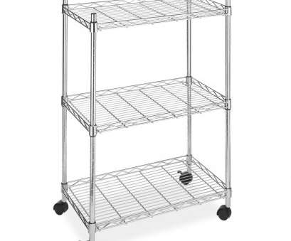 walmart wire shelving on wheels Whitmor Supreme 3 Tier Cart Chrome with Wheels Walmart Wire Shelving On Wheels Top Whitmor Supreme 3 Tier Cart Chrome With Wheels Photos