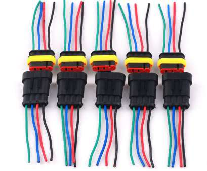 waterproof electrical wire connector plug 5, 4pin 2, Car Waterproof Electrical Connector Plug Wire, Marine #k Waterproof Electrical Wire Connector Plug Nice 5, 4Pin 2, Car Waterproof Electrical Connector Plug Wire, Marine #K Photos