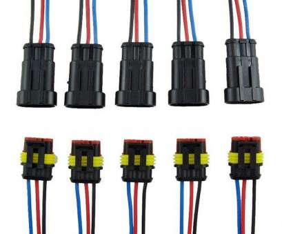 waterproof electrical wire connector plug Get Quotations · Onmi 3, Way, Auto Waterproof Electrical Connector Plug with Wire, Marine Pack of Waterproof Electrical Wire Connector Plug Best Get Quotations · Onmi 3, Way, Auto Waterproof Electrical Connector Plug With Wire, Marine Pack Of Galleries