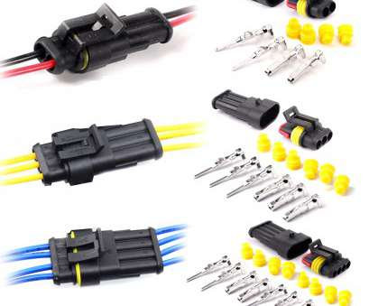 waterproof electrical wire connectors Details about 10-30pcs 2/3/4, Way, Super seal Waterproof Electrical Wire Connector Plug Waterproof Electrical Wire Connectors Best Details About 10-30Pcs 2/3/4, Way, Super Seal Waterproof Electrical Wire Connector Plug Galleries