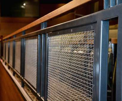 welded wire mesh infill panels Banker Wire's, metal fabric is used as infill, the space's railings Welded Wire Mesh Infill Panels Creative Banker Wire'S, Metal Fabric Is Used As Infill, The Space'S Railings Ideas