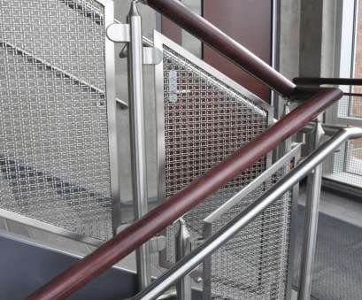 welded wire mesh infill panels M22-22 woven wire mesh infill panels is mounted using glass clips in this new Welded Wire Mesh Infill Panels Top M22-22 Woven Wire Mesh Infill Panels Is Mounted Using Glass Clips In This New Solutions