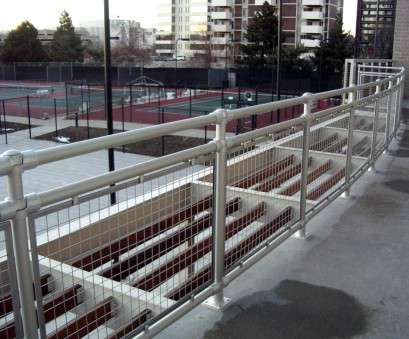 welded wire mesh infill panels woven wire metal railings exterior, Aluminum Roof Railings with Wire Mesh Infill Panels Welded Wire Mesh Infill Panels Creative Woven Wire Metal Railings Exterior, Aluminum Roof Railings With Wire Mesh Infill Panels Solutions