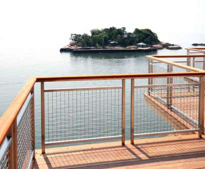 welded woven wire mesh The stainless steel of, decorative mesh railing infill is a compliment to, wood deck Welded Woven Wire Mesh Most The Stainless Steel Of, Decorative Mesh Railing Infill Is A Compliment To, Wood Deck Galleries