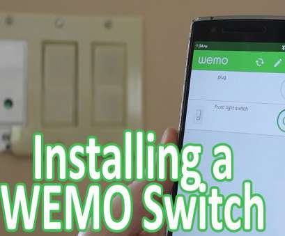 wemo light switch neutral wire Installing a WEMO Light Switch Wemo Light Switch Neutral Wire Practical Installing A WEMO Light Switch Photos