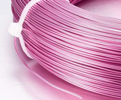 what diameter is 18 gauge wire Beebeecraft PandaHall 1 Roll of, Meters Aluminum 18 Gauge Jewelry Craft Making Beading Craft Wire Diameter, Length, Feet/Roll Deep Pink 13 Professional What Diameter Is 18 Gauge Wire Photos