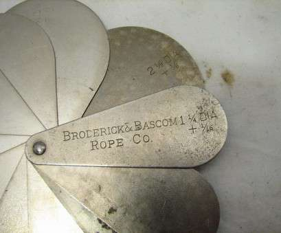 what diameter is 8 gauge wire Early Broderick & Bascom Rope Co Diameter Gauge Wire Measuring What Diameter Is 8 Gauge Wire Brilliant Early Broderick & Bascom Rope Co Diameter Gauge Wire Measuring Images