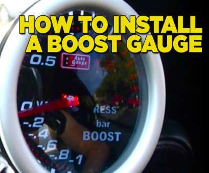 what does 24 gauge wire mean How To Install Boost Gauge DIY What Does 24 Gauge Wire Mean Brilliant How To Install Boost Gauge DIY Galleries