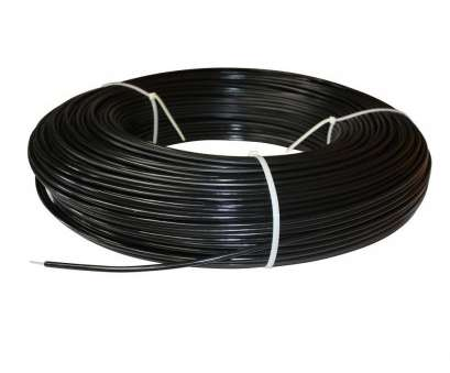 what electrical wire is black White Lightning 1320, 12.5-Gauge White Safety Coated High Tensile Electric Fence Wire What Electrical Wire Is Black Practical White Lightning 1320, 12.5-Gauge White Safety Coated High Tensile Electric Fence Wire Collections