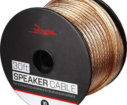 what gauge speaker wire for 30 foot run Rocketfish™ -, Speaker Wire, 16AWG, Gold What Gauge Speaker Wire, 30 Foot Run Simple Rocketfish™ -, Speaker Wire, 16AWG, Gold Images