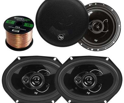 what gauge speaker wire for 600 watts Get Quotations ·, Speaker Package Of 2x Audiopipe CSL-6803 6x8