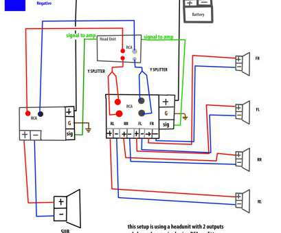 Home Stereo Wiring Diagram For A Subwoofer To Receiver ... on